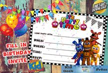 Five Nights at Freddy's Party