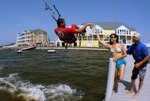 Kiteboarding - Outer Banks, NC / Stay soundfront and enjoy onsite kiteboarding & sunsets!
