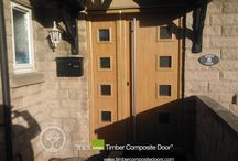 Solidor Milano Timber Composite Doors / Selection of images featuring the Solidor Milano Timber Composite Door installed by ourselves