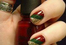 nails - christmas