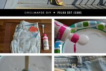 DIY ruhaötletek - ruhafestékkel festett minták