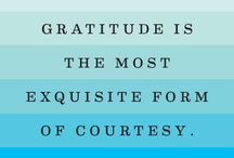 Living Life in Gratitude