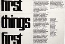 Graphic Design - Brand Manifestos
