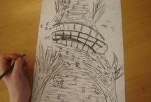 Tekeningen van mijn klas.