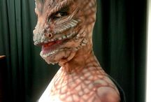 Special  Effects / Body-painting, grime, visagie, special effects