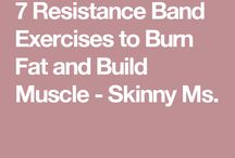 7 resistant band excercizes