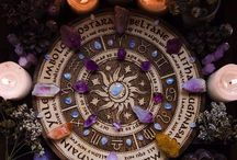 Wicca, witchcraft, crystals