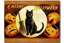 Cats at Halloween / Halloween stuff with cats