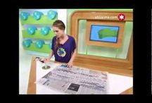 MANUALIDADES CON PERIÓDICO / Reciclar papel de periódico