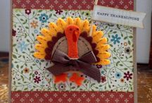Thanksgiving Theme Cards