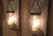 luminaire home made