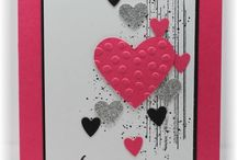 Hearts / Cards and ideas with hearts