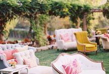 wedding outdoor furniture