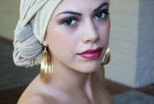 Chemo Head Scarfs / Losing your hair during chemo can be devastating, but there are some ways you can still be stylish.