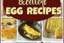 Egg Recipes / Recipes that feature eggs