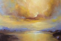 Inspired by Turner / Atmospheric seascapes by Art2Arts artists.