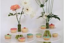 table decor ideas, cakes