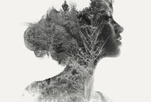 Double exposure art