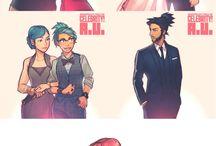 Character design, illustration