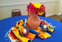 centerpieces for the tables / by Beverly Zimmer