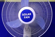 solar fan dc 12V wall fan SOLAR PANEL OR BATTERY NOT INCLUDED