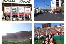 2014 Rose Bowl with Katie Osborne! / by Meg Osborne