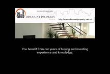 Buy Real Estate in Auckland / http://discountproperty.net.nz - To make your buying decision we will target the location that is right for you and pinpoint the very best properties available to you within your budget.