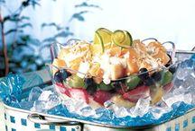 Salads Soups Salsa Snacks & Dips / by Tena Thompson Sanders