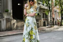 Floral Frocks! / Florals are fabulous all year long!
