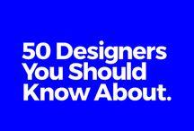 Amazing Designers / Graphic Design Inspiration