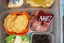 Kid breakfast/lunch ideas for school / by Jessica Garrett