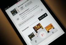 mobile web / App design