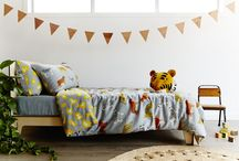 Childrens Bed Linen / All things bed linen that we love and are inspired by. Kids duvet covers, quilts, blankets, beautiful beds and on and on and on.....