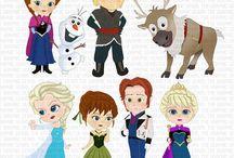 Art & Doodles - Disney - Frozen