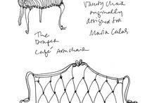 рисунки мебель