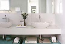 :: banheiros e lavabos ::