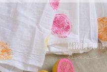 tisk textil