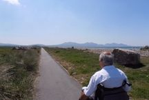 Wheelchair friendly trails on the Wales Coast Path