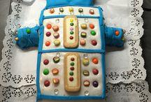 Roboterkuchen / Geburtstagskuchen