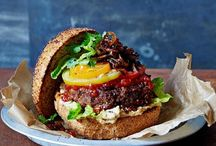 Jamie Oliver burgers