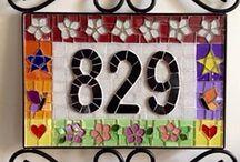 Таблички с номером дома