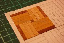Dollhouse Building / Miniature floors - beginner tutorials, tips & strategies