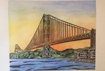 Bridge Gallery Wall Options