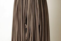 Draping / Fashion and clothing couture technique