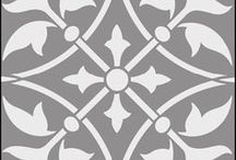 stencils and tiles