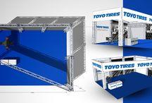 Toyo Tires Italia stand project