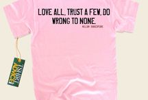 Love Quote T-shirts / Quotes about love