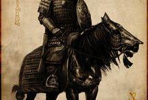 Horse Warriors - Drawings