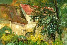Paul Cézanne / Obras de Paul Cézanne / by Miguel Ángel Persiva Saura