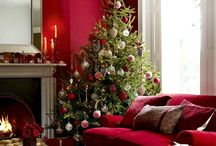 Red Livingrooms Decor